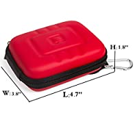 G-raphy Compact Hard Camera Case Point & Shoot Digital Camera Case for Canon Nikon Sony Panasonic and etc by i-graphy