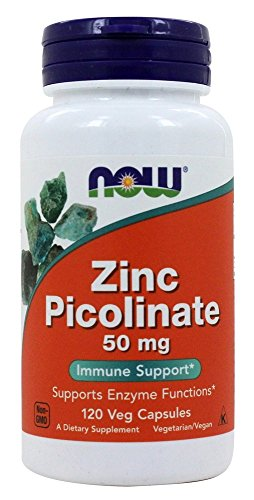 NOW Foods Zinc Picolinate capsules product image