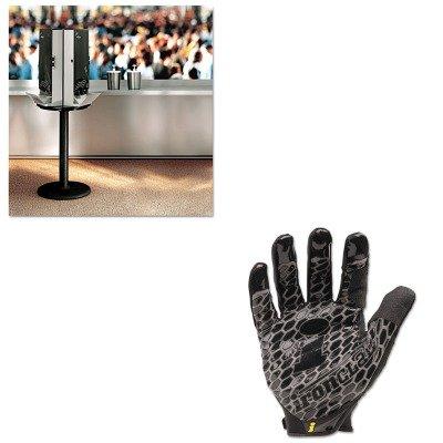 KITDXESSBASE08IRNBHG04L - Value Kit - Dixie SmartStock Cutlery Dispenser (DXESSBASE08) and IRONCLAD PERFORMANCE WEAR Box Handler Gloves (IRNBHG04L)