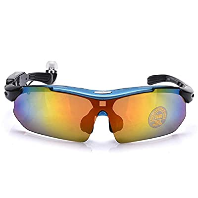 JAY-LONG 4.1 Stereo Bluetooth Smart Sports Glasses, Multi-Function Polarized Sunglasses, Eye Protection and Anti-Glare, with Five Colors Lenses