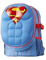 DC Comics Superman 16 Molded Padded Chest School Backpack