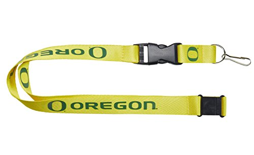 NCAA Oregon Ducks Team Lanyard, Yellow ()