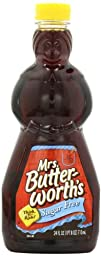 Mrs. Butterworth\'s Pancake Syrup Sugar Free Pack of 2