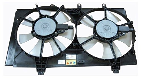 Radiator Cooling Fan w/Dual Blades & Motors for Plymouth Dodge Neon (Engine Motor Dodge Neon Plymouth)