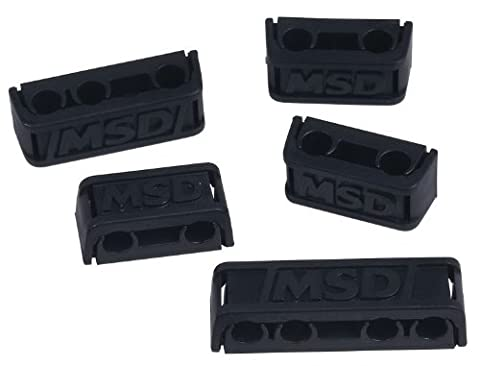 MSD 8843 Pro-Clamp Plug Wire Separator, (Set of 8) (Ignition Wire Separator)