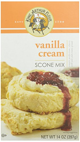 King Arthur Flour Vanilla Cream Scone Mix, 14 Ounce