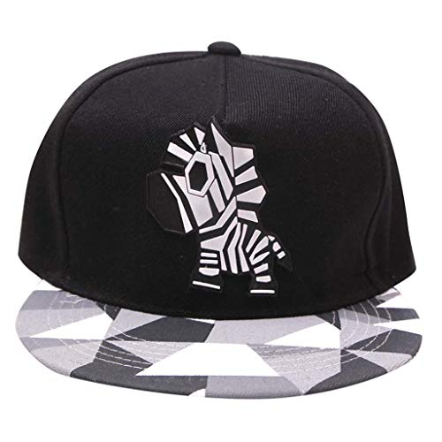 Weiliru Flat Bill Baseball Hats Snapback Hip Hop Cap,Grey