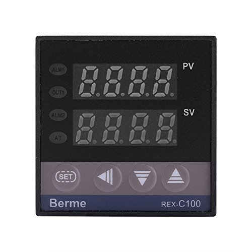 0℃~1300℃ Alarm REX-C100 Digital LED PID Temperature Controller Thermostat Kits AC110V-240V by Walfront (Image #3)