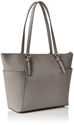 e14dc0d172d9 Michael Kors Jet Set East West Top Zip Tote in Pearl Gray available ...
