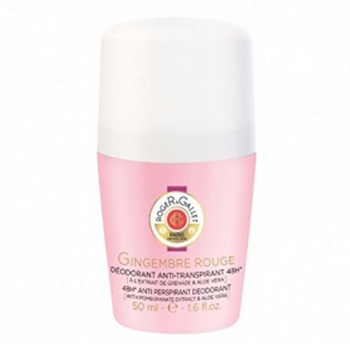 (Roger & Gallet Gingembre Rouge 48H Anti Perspirant Deodorant Roll On, 1.6 Ounce)