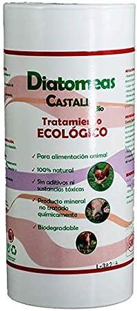 Castalia Bio Tierra de Diatomeas, 250gr Tratamiento Ecológico para ...