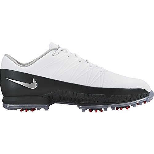 2016 Nike AIR ZOOM ATTACK Golf Shoes Wide -White/Silver/Black- 860943-101