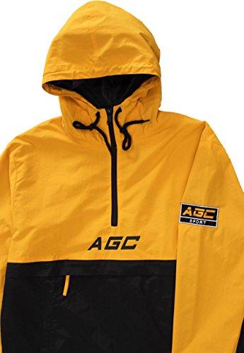 Agc Agc giacca giacca pullover Ora giallo giallo Ora pullover giacca Ora qHnE6