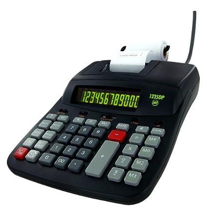 Jet CJ1235DPECO - Calculadora con impresora (12 cifras ...