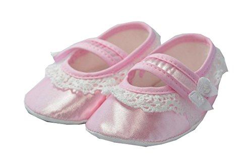 Festliche Babyschuhe / Taufschuhe Zoe - Ballerinas Rosa