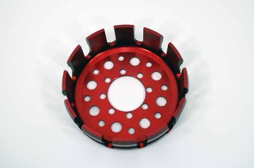 - Red Ducati Pressure Plate Clutch Basket 1198 1098 999 748