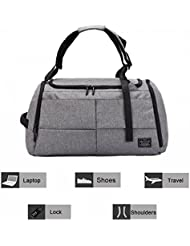 Gym Duffel Bag-20 Travel Luggage Bag, Waterproof Lightweight Gym Bag for Women, Men