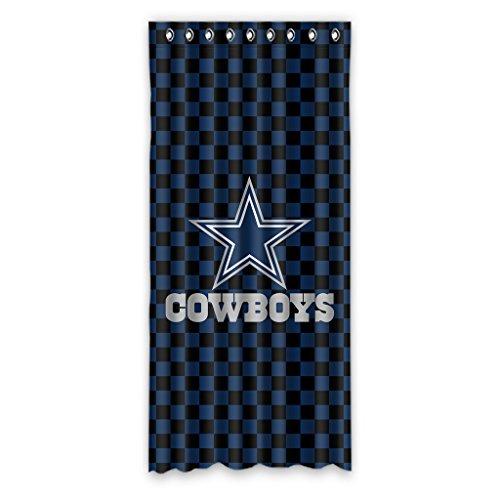 "Dallas Cowboys fashion practical Window Curtain 50""x108"""