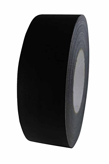 Premium Tape Stage 80 Schwarz Matt Ultra Strong Profi Gewebeband