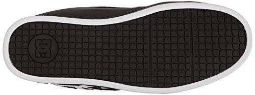 DC Shoes - Zapatillas de deporte para hombre Black/White/Black 2