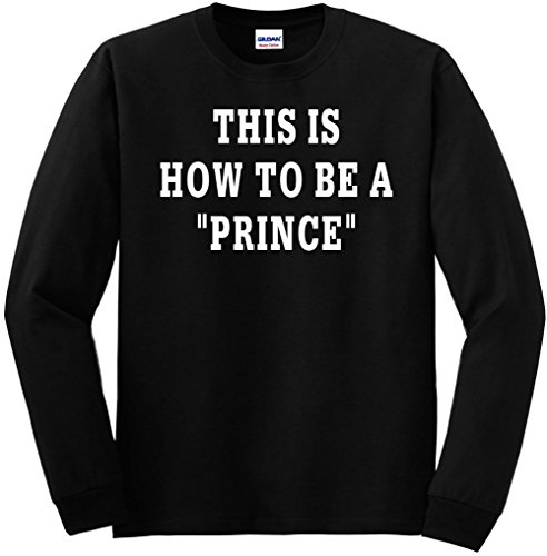 Youth Long Sleeve This Is How To Be A Prince XS Kids - How Mail Long Priority Shipping Is