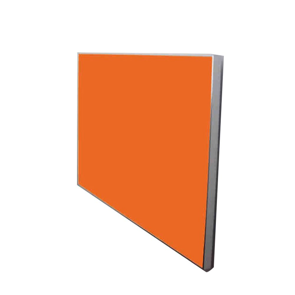 NAN 折りたたみテーブル壁掛けドロップリーフテーブル、折りたたみキッチンダイニングテーブルデスクアルミ合金エッジ ワークベンチ (色 : Orange, サイズ さいず : L50CM*W50CM) B07FGW729ROrange L50CM*W50CM