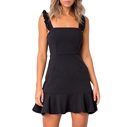 Upxiang Arbeiten Reizvolles Kleid Damen Sie Sleeveless Abend Partei ...