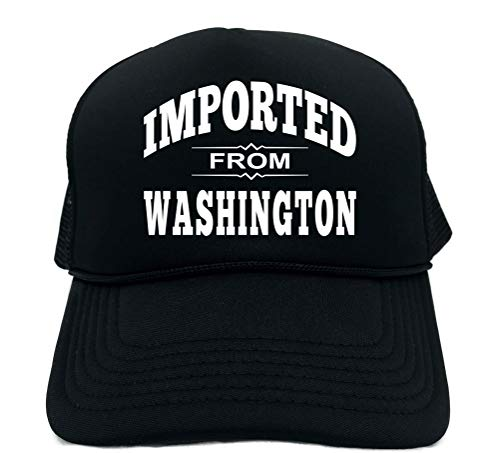 Signature Depot Funny Trucker Hat (Imported from Washington (WA State) Unisex Adult Foam Cap