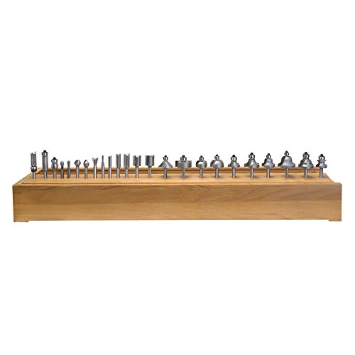 Amana Tool AMS-124 24-Piece Carbide Tipped Router Bit Set 1/4 Inch SHK by Amana Tool