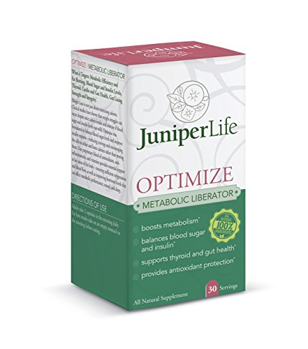 OPTIMIZE - Metabolic Liberator: Burn Fat, Control Blood Sugar, Help Thyroid, Cardio & Gut Health, Lining, and Integrity.