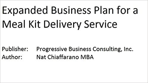 Business plan for delivery service