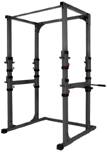 XMark Fitness Power Cage with Pull-Up Bar and Dip Station