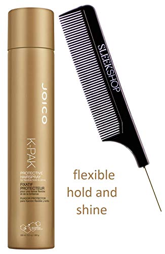 Joico K-PAK Protective Hairspray for FLEXIBLE HOLD & SHINE, Aerosol Hair Spray (STYLIST KIT) (K-PAK - 8.9 oz / 300 ml)