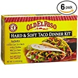 Old El Paso Hard & Soft Taco Dinner Kit 11.4 oz (Pack of 12)