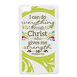 Christian Theme Case Cover Protector for ipod touch 4