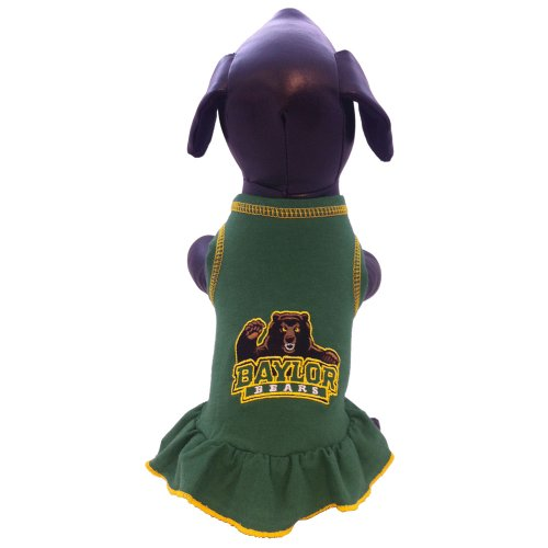 NCAA Baylor Bears Collegiate Cheerleader Dog Dress (XX-Small)