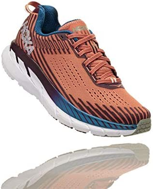 HOKA – Zapatillas Running Clifton 5 Mujer, Naranja, 40: Amazon.es: Deportes y aire libre