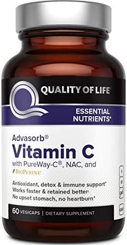 Quality Life Advasorb%C2%AE Supplement Vegicaps product image