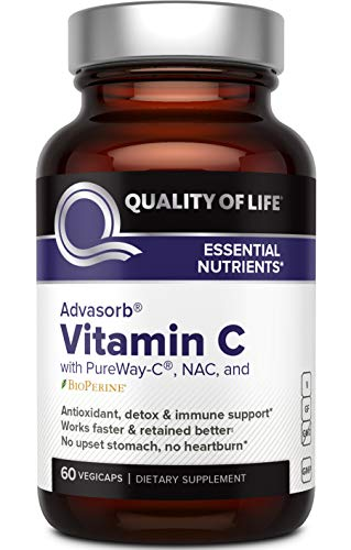 Quality of Life - Advasorb® Vitamin C Supplement - 60 Vegicaps