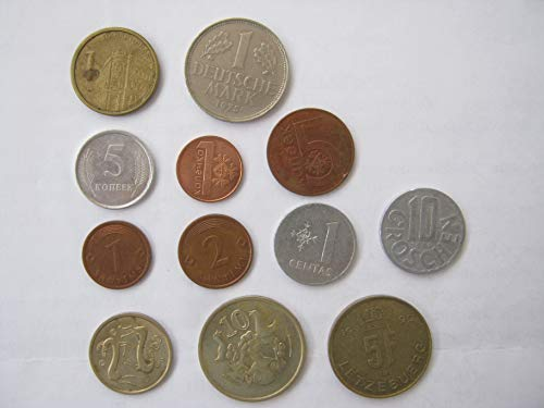 Set of Old European Coins (12 Coins)