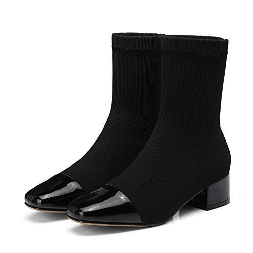 Balamasa 36 Abm13625 Eu Sandales Compensées Noir Noir 5 Femme rWrq7xpnC