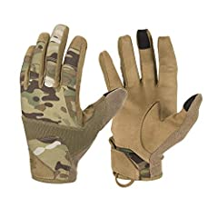 Designed in cooperation with shooting experts, the RANGE TACTICAL GLOVES are go-to choice for anyone that needs comfort and reliable weapon grip. Gloves were made to guarantee perfect feel of the trigger and, thanks to proper fabric ch...