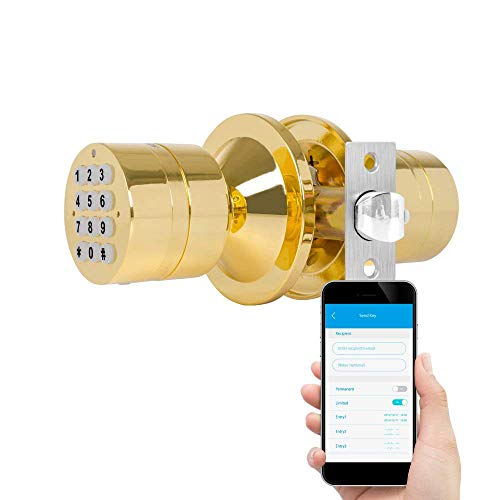 TurboLock TL-99 Bluetooth Smart Lock for Keyless Entry & Liv