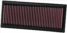 K&N 33-2761 Filtro de Aire Coche, Lavable y Reutilizable