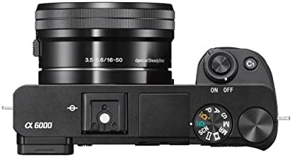 Sony Alpha a6000 Mirrorless Digital Camera w/ 16-50mm and 55-210mm Power Zoom Lenses 41kmVP9hQtL