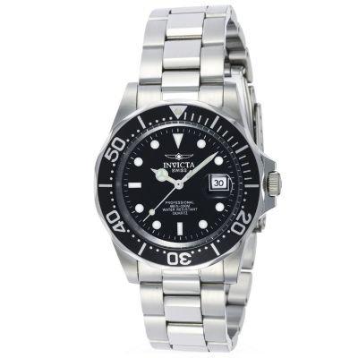 Invicta Men's Swiss Quartz Pro Diver Stainless Steel Bracelet Watch -  J110808-00003-00241