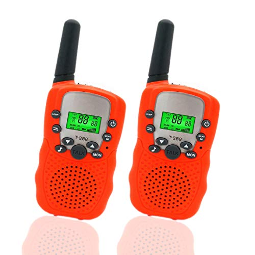 Happy Gift Toys for 3-12 Year Old Girls, Walkie Talkies for Kids Toys for 3-12 Year Old Boys Toys Gifts for Teen Boys Gifts for Teen Girls Birthday Gifts (Orange)