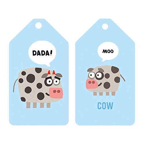 41kmWc6k4FL - Mudpuppy Jimmy Fallon Your Baby's First Word Will Be DaDa Flash Cards (First Words Flash Cards, for Toddlers, Baby Flash Cards)