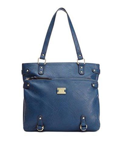 Style&co. Precious Cargo Tote Bag Handbag (Navy)