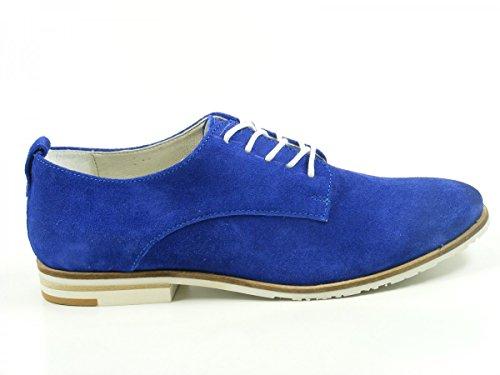 61306422 Spm Bermuda Scarpe Eleganti Blau Donna aqvZA7qH8